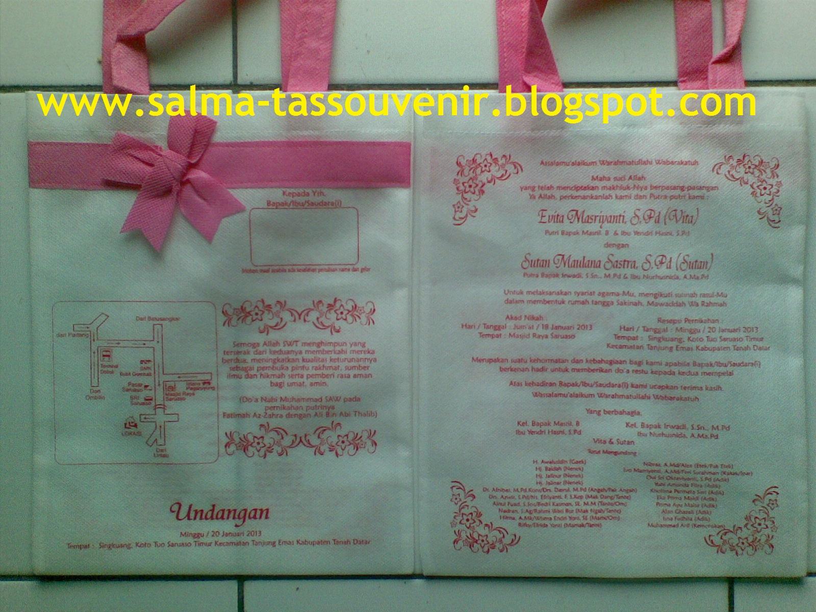 Terima Kasih Sis Evita Solok Sudah Order Di SALMA STORE